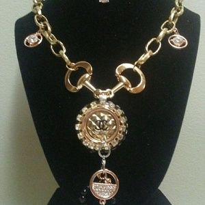 CHANEL BUTTON NECKLACE REPURPOSED